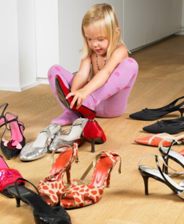 Убедитесь в том, что обувь не слишком большая