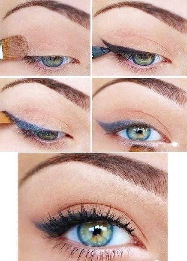 Как правильно навести стрелки и сделать идеальный макияж глаз