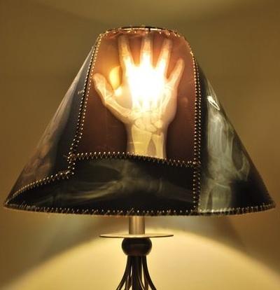 Как сделать авангардную лампу