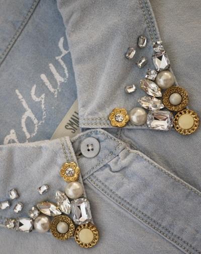 Как сделать старые джинсы более модными