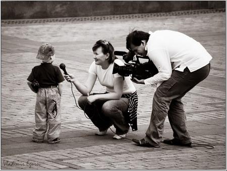 даже у маленького мальчика интервью нужно брать умело