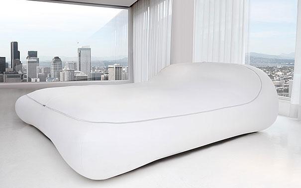 Letto Zip или кровать-чехол на молнии - необычные и оригинальные кровати в стиле хай-тек и модерн