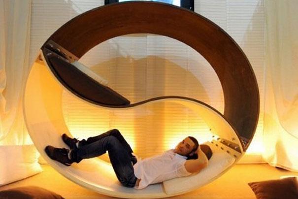 Инь-янь - необычные и оригинальные кровати в стиле хай-тек и модерн