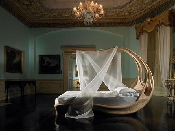 кровать-загадка Энигнум - необычные и оригинальные кровати в стиле хай-тек и модерн