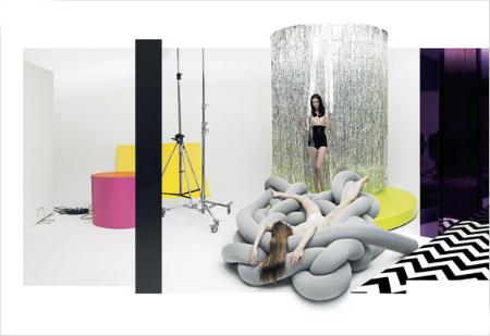 свяжи себе кровать - уникальные кровати в стиле модерн и high-tech