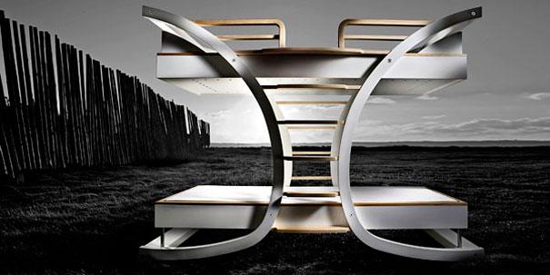 Кровать-волна - дизайнерские кровати в стиле модерн и high-tech