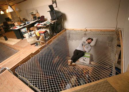 гамаки нонконформистов - необычные и оригинальные кровати в стиле хай-тек и модерн