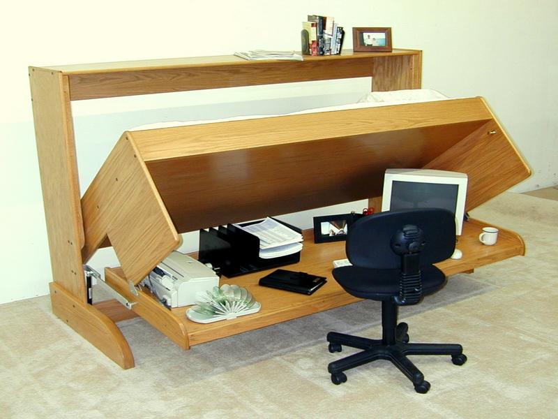 Современные кровати-трансформеры - Кровать-офисный/письменный стол