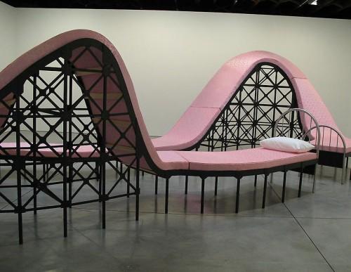 американские горки - необычные и оригинальные кровати в стиле хай-тек и модерн