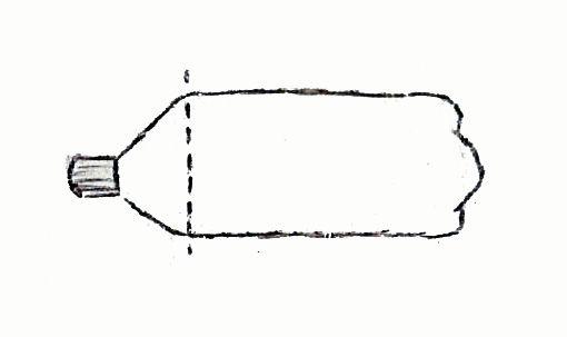 Пластиковая бутылка - герметичный контейнер для мокрого купальника или плавок