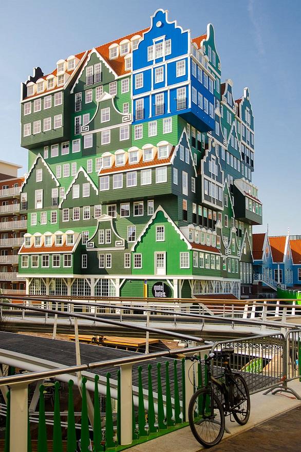 Отель «Zaandam Inntel Hotel» - отражение всего Амстердама