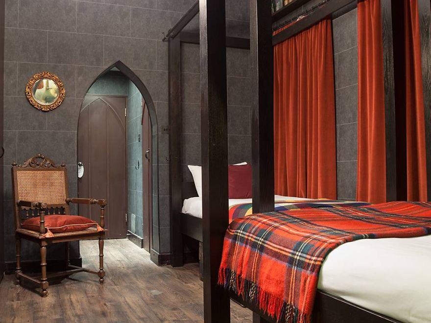 Отель Гарри Поттера (Harry Potter Hotel) в Лондоне, номер