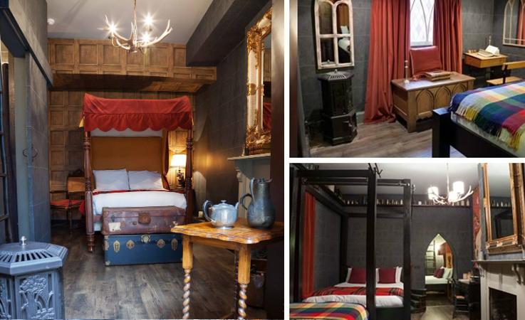 Отель Гарри Поттера (Harry Potter Hotel) в Лондоне - комнаты