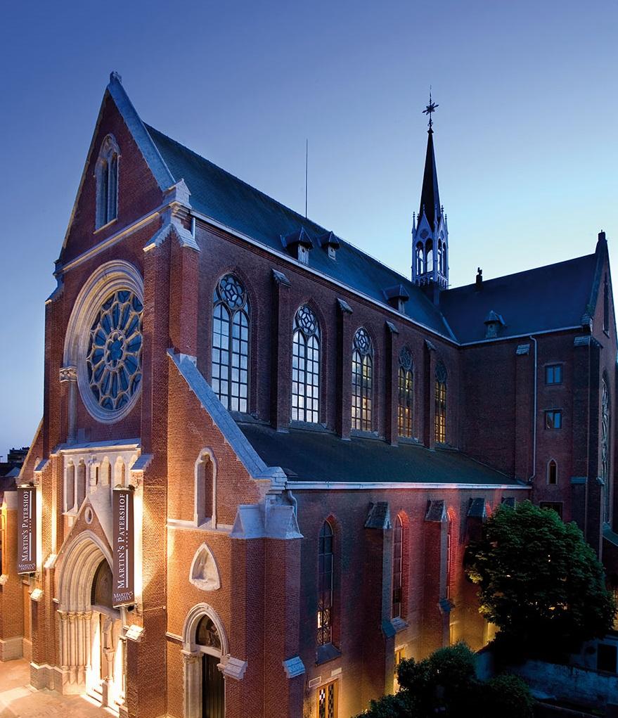 4-хзвездочный отель в церкви – «Martin's Patershof Church Hotel», Мехелен, Бельгия