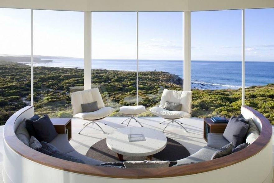 5-тизвездочный Южноокеанический лодж на острове Кенгуру В Австралии (The Southern Ocean Lodge)