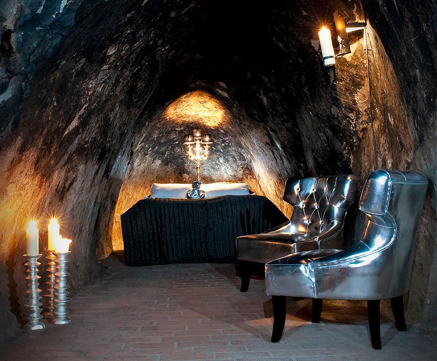 Отель «Серебряная шахта Салы» (Sala Silvermine), Швеция - номер