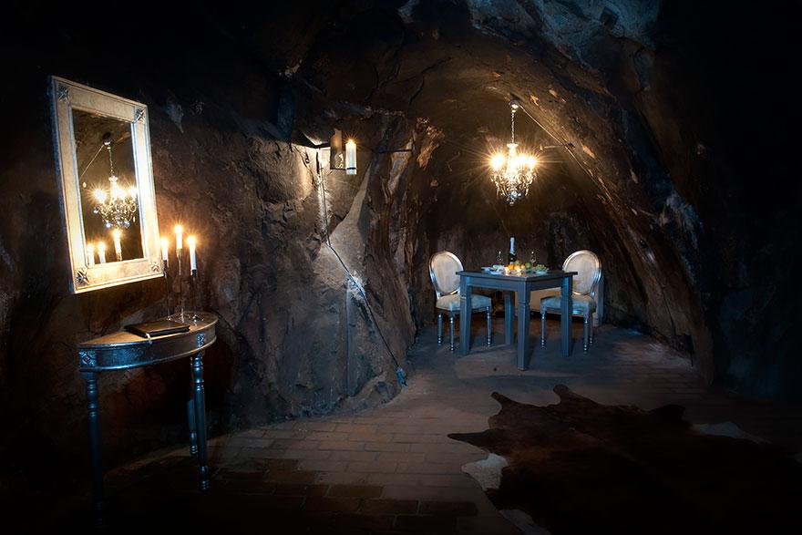Отель «Серебряная шахта Салы» (Sala Silvermine), Швеция - единственный номер