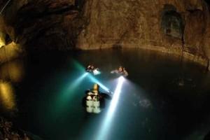 «Серебряная шахта Салы» (Sala Silvermine), Швеция - подземные озера