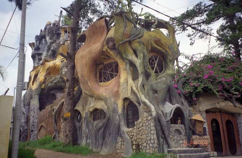 «Гостевой дом Ха Нга» (Hang Nga Guesthouse), Вьетнам - вид сбоку
