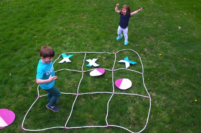 Как развлечь веселую компанию на пикнике: делаем огромные игры