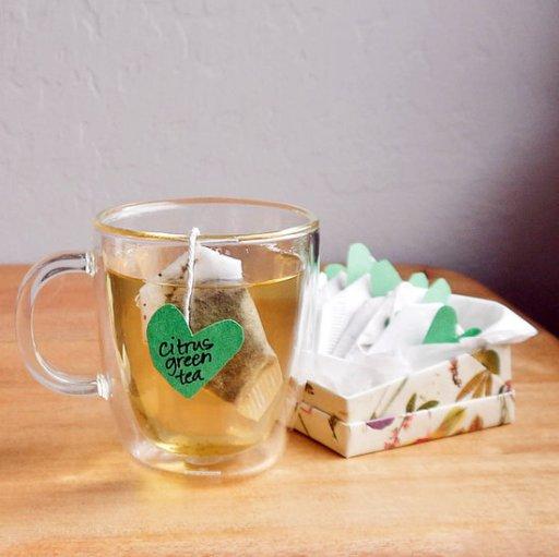 Как сделать домашний чай в пакетиках
