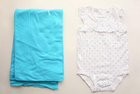 Как сшить детское платье из боди (распашонки)?