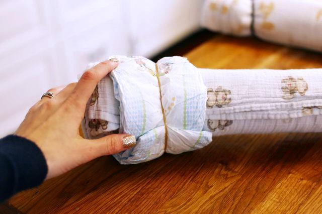 Как оригинально упаковать приданое (подарок) для новорожденного малыша