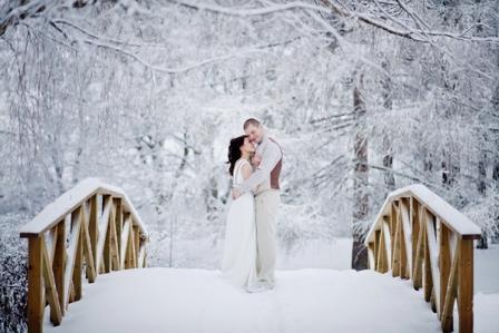 Как организовать свадьбу зимой