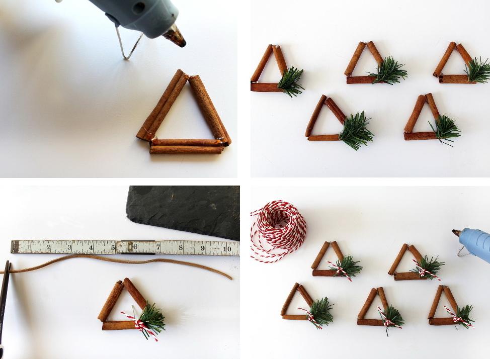 Как украсить дом новогодним декором с запахом корицы?