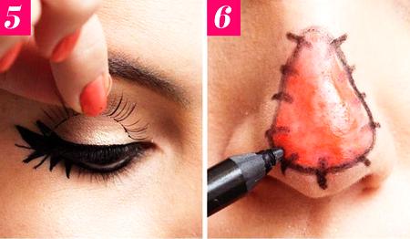 Как сделать на Хэллоуин макияж чучела из «Изумрудного города»?