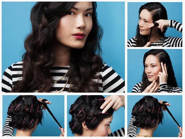 Как быстро накрутить волосы без плойки и бигуди