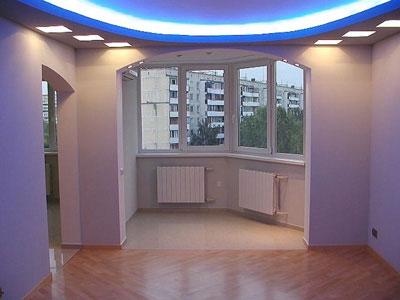Как осуществить перепланировку гостиной комнаты в малогабаритной квартире?