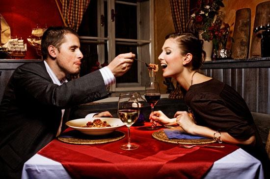 Ужин в день всех влюбленных