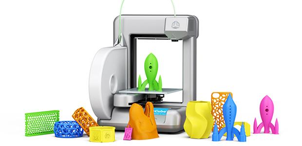 игрушки и украшения из 3D принтера