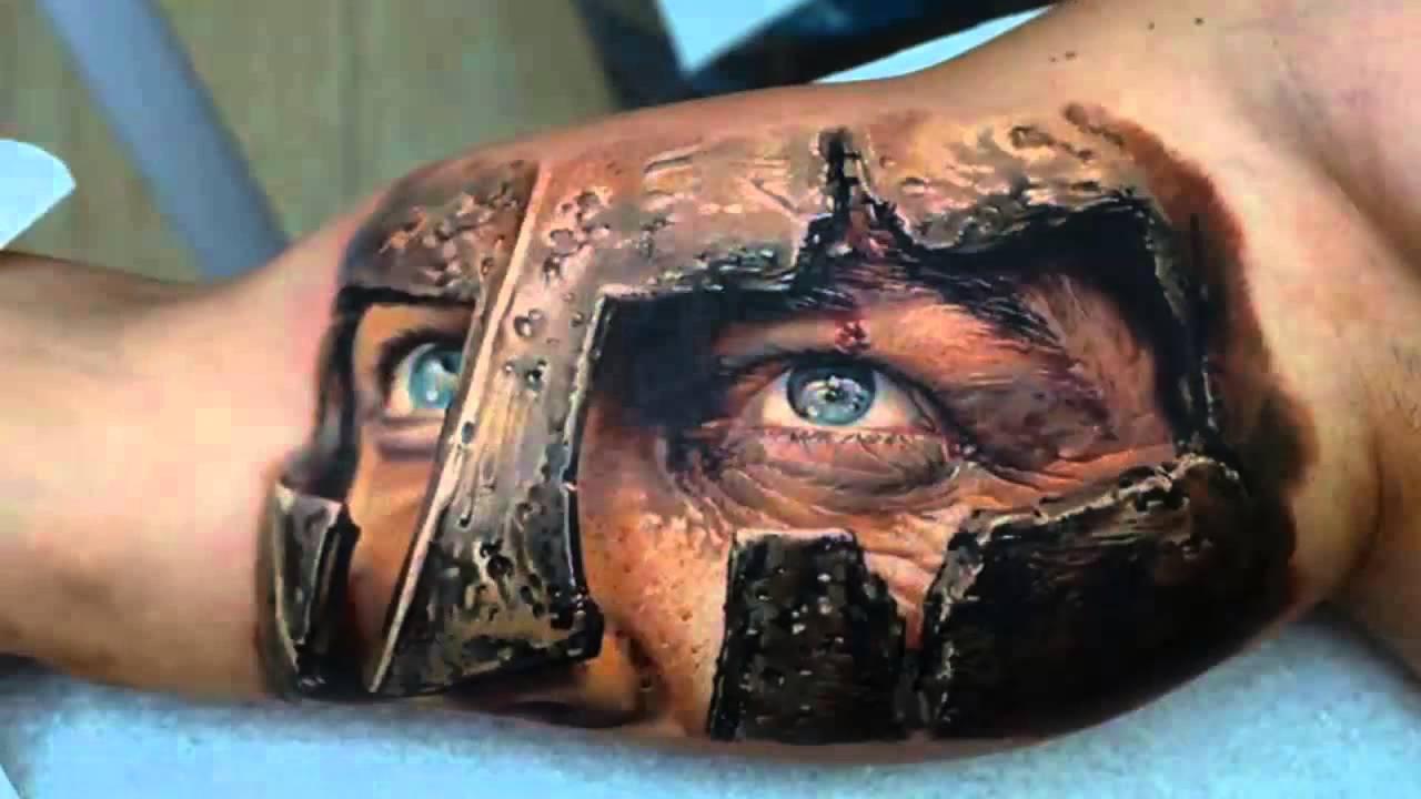 3D (объемные) и фото-татуировки: СПАРТА!