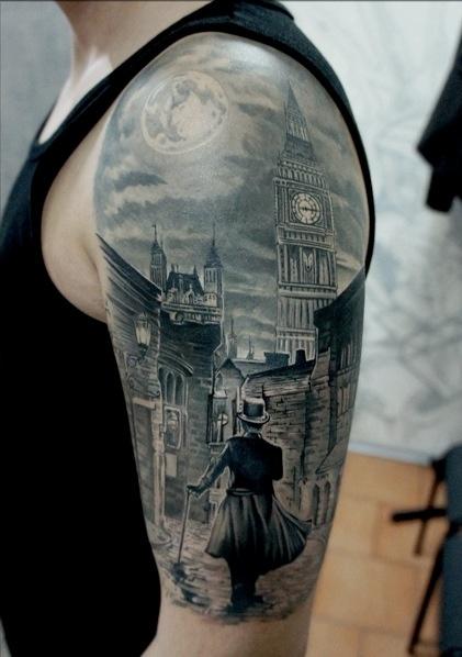 3D (объемные) и фото-татуировки: объемные и детальные картинки