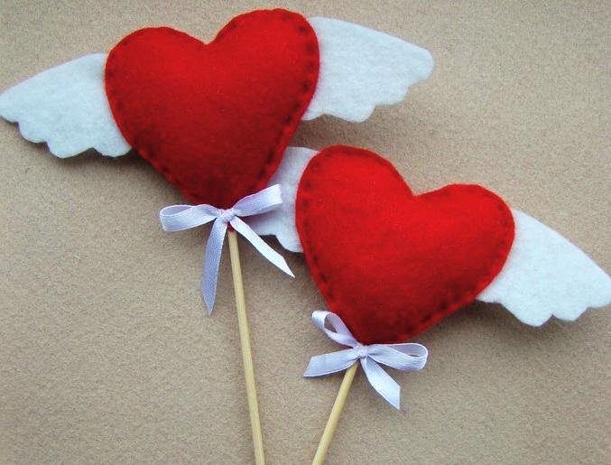 Как сделать сердечко неразлучник самой