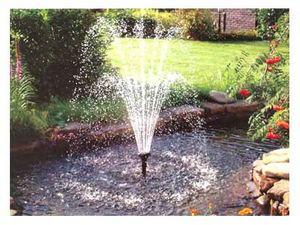 Небольшой фонтан или хороший насос можно собрать самостоятельно из отдельно купленных частей