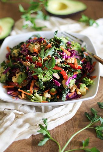 Как приготовить салат для быстрого похудения