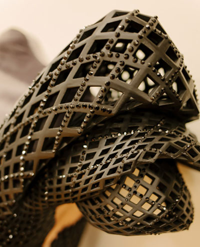 Как было создано первое платье на 3D принтере