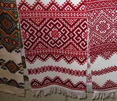 Как сделать русскую народную вышивку