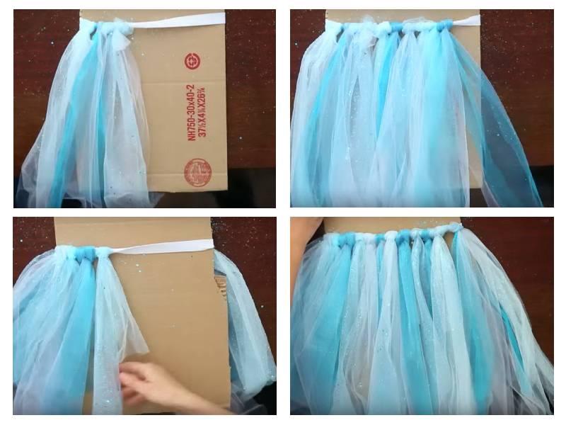 Как сделать юбку на стол