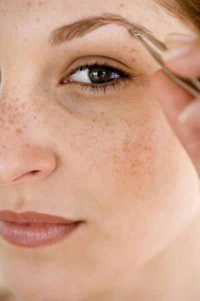 брови обрамляют ваши глаза