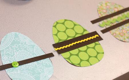 Как сделать пасхальную гирлянду для украшения комнаты?