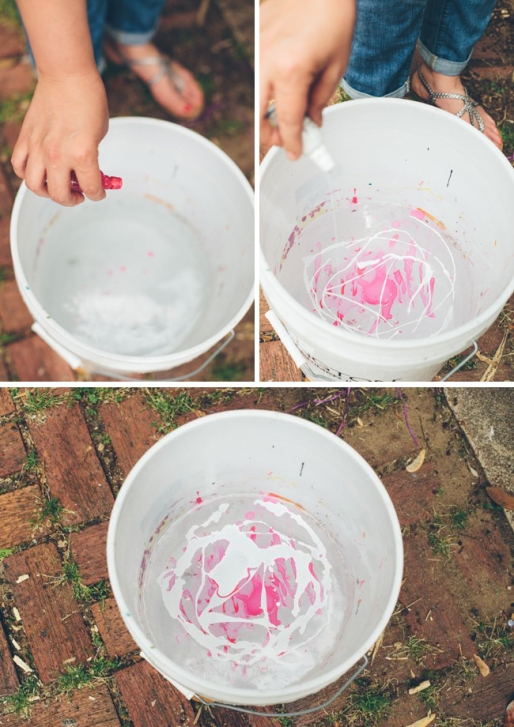 Как декорировать горшки для цветов при помощи лака для ногтей