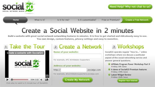 socialgo.com – Своя социальная сеть.
