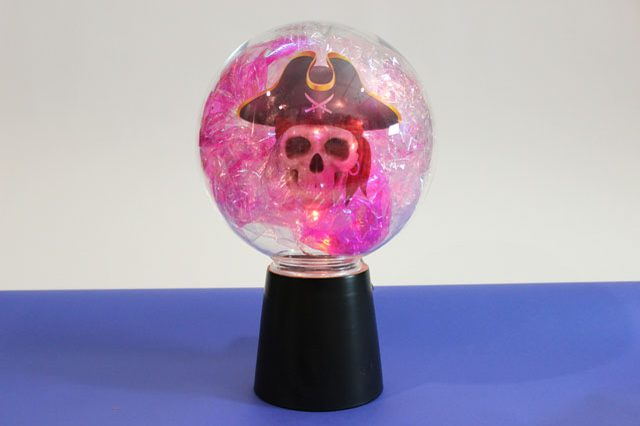 Как легко сделать магический шар на Хэллоуин?