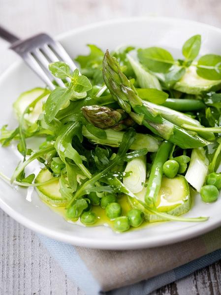 Начните в пятницу с зеленого салата