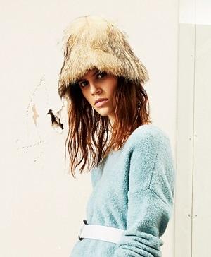 Как носить шапки осенью 2014?
