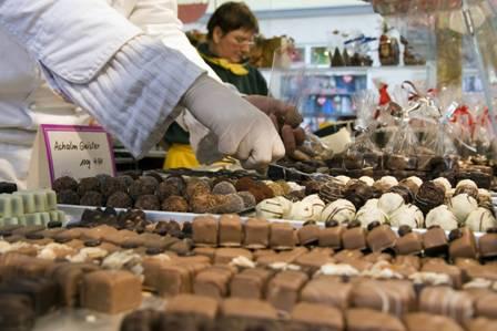 Как проходит фестиваль шоколада в Италии